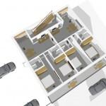 3D Ansicht Wohnungen